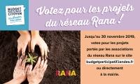 Budget participatif Landes : les associations du réseau Rana et leurs projets