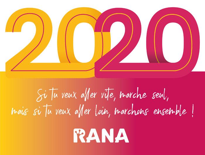 Calendrier réseau Rana 2020